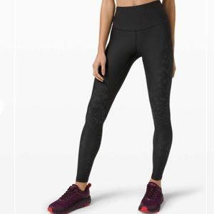 Lululemon Mapped Out High Rise Tight *Camo